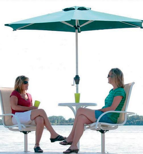 Shoreline Dock Furniture U2013 Patio Set | At The Lake Distributing   Wholesale  Distributor Of Pool, Lake And Cottage Recreational Products Canada
