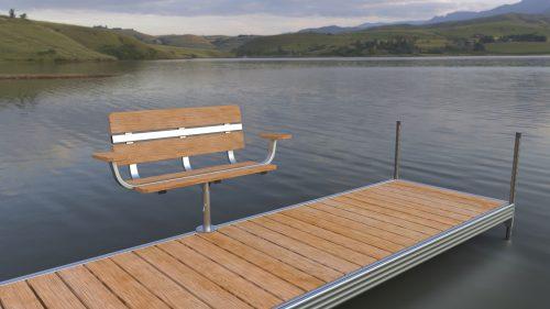 LHD Swivel bench