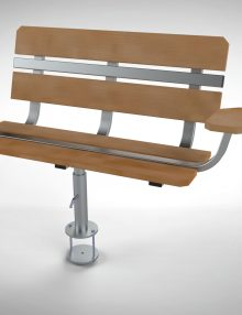 LHD Swivel Bench Only