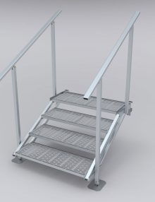 LHD Dock Stairs Only
